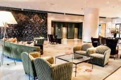 Hilton Amsterdam Lobby green