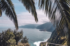 Madeira Palmen Eira da Achada, Ribeira da Janela View